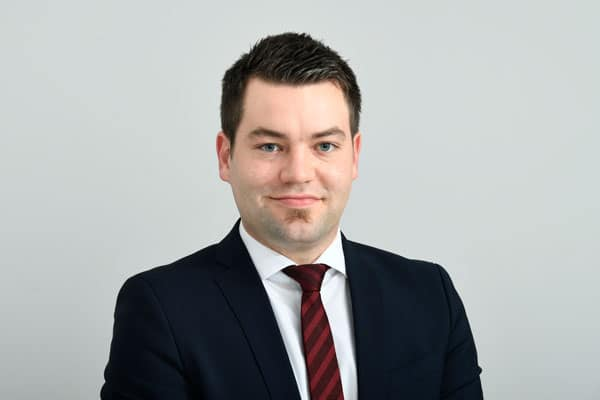 René Volkmer von der Steuerberatungsgesellschaft Quattek & Partner in Göttingen, Bovenden